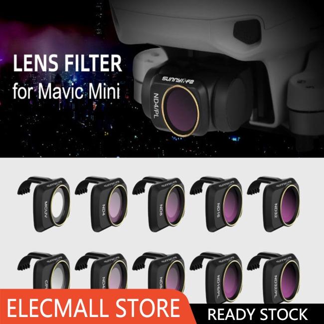 RC Drone Lens Filter Set ND CPL NDPL MCUV Kits for Mavic Mini Airplane Mini Camera Accessories