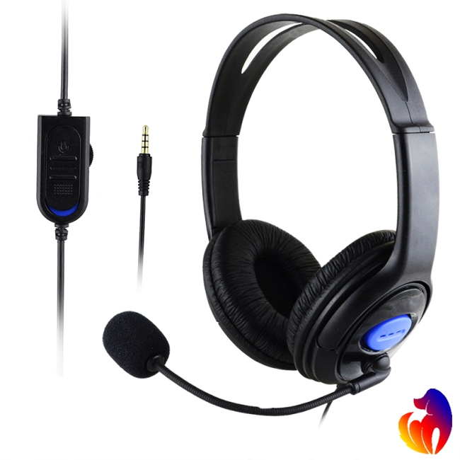 Stereo Wired Gaming Headsets Headphones with Mic for PS4/PC 890 Giá chỉ 74.200₫