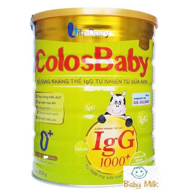2 Lon Sữa Colosbaby 0+ 800g