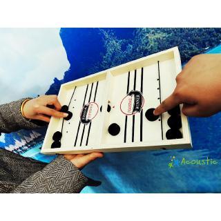 ღ☭Funny Fast Sling Puck Game Winner Board Family Games Toys