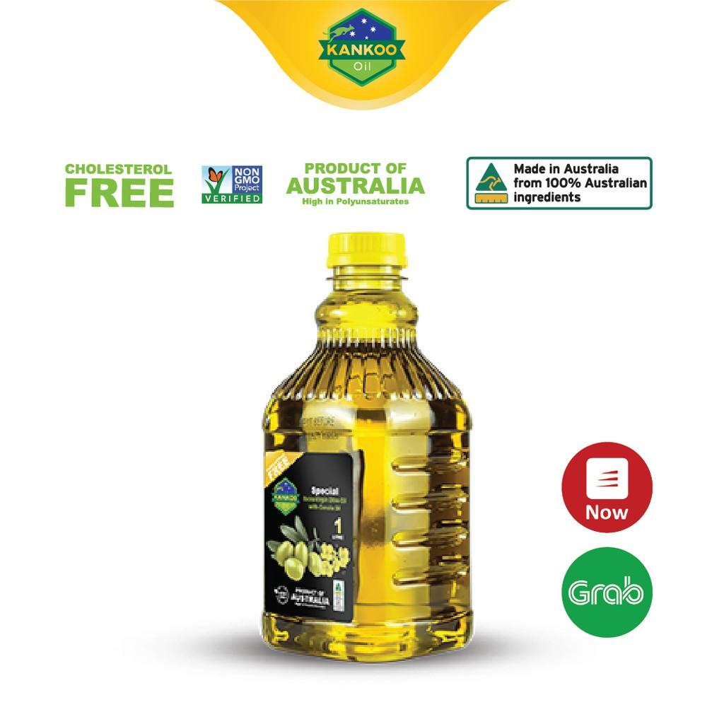Dầu ăn Oliu hạt cải Kankoo 1 lít nhập khẩu từ Úc