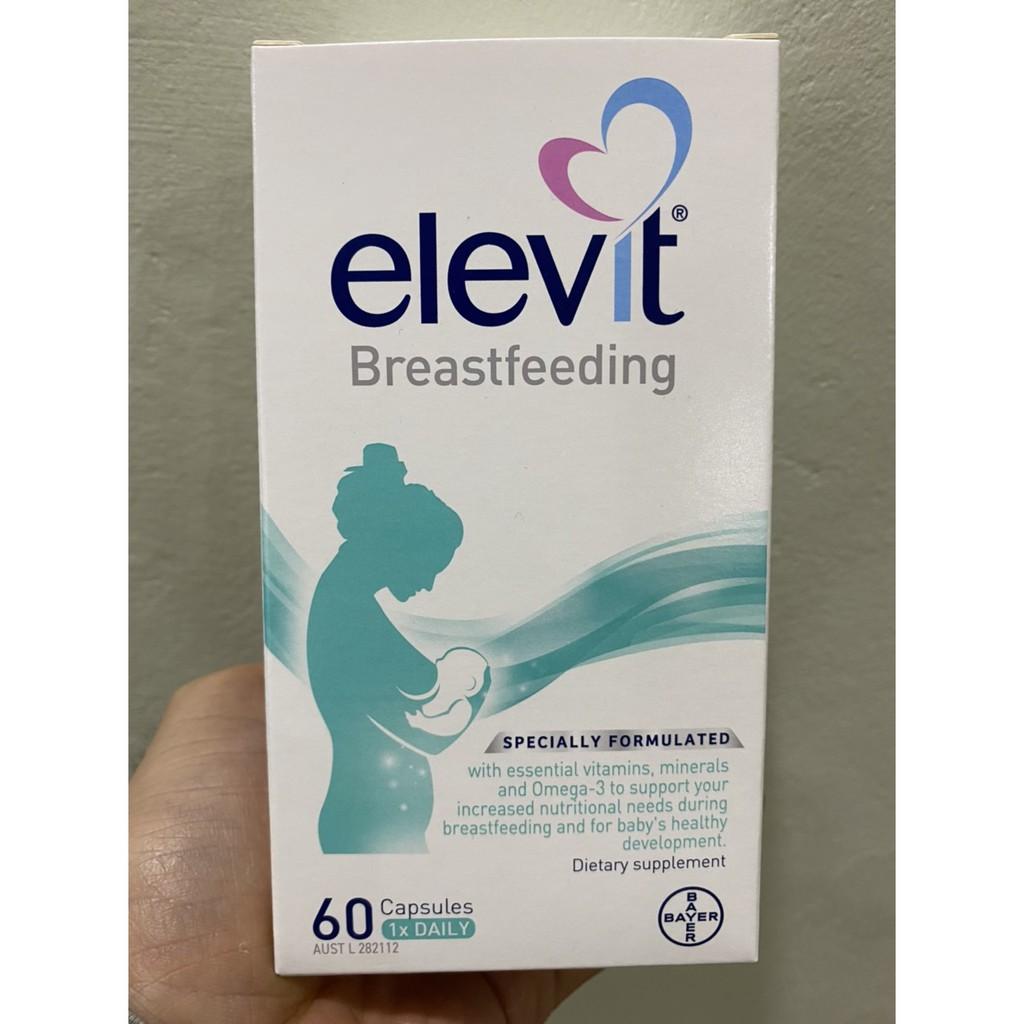 Vitamin tổng hợp Elevit bú sau sinh mẫu mới 60 viên cao cấp