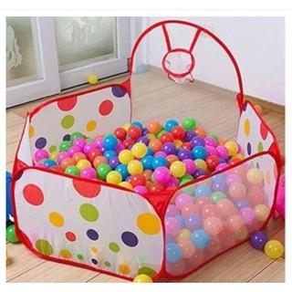 Lều bóng chấm bi cho bé yêu kèm 100 bóng (SHOP GIÁ SỈ)