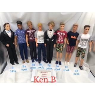 Búp bê Ken chính hãng. Mã búp bê Ken B thumbnail