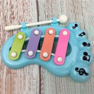 Đàn gõ phát nhạc hình bàn chân dễ thương cho bé 7