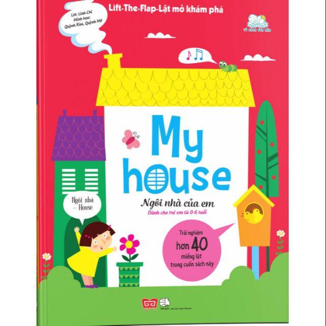 Sách Lật mở khám phá My House Ngôi nhà của em - 2540965 , 1264786223 , 322_1264786223 , 168000 , Sach-Lat-mo-kham-pha-My-House-Ngoi-nha-cua-em-322_1264786223 , shopee.vn , Sách Lật mở khám phá My House Ngôi nhà của em