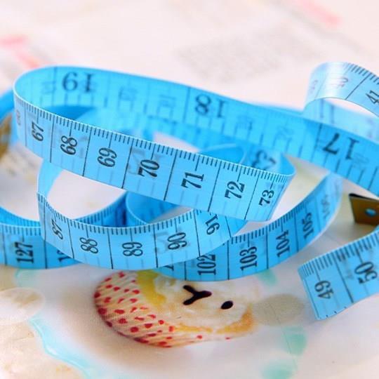 Thước dây 150cm đo eo, ngực, mông, thước thợ may Hàng mới 100%