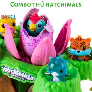 Combo đồ chơi thú Hatchimals, đồ chơi Shopkins cho bé thỏa thích vui chơi