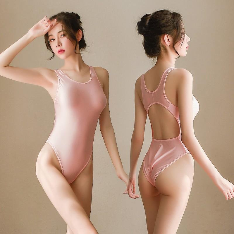Đồ lót liền thân vải trơn co giãn ôm body sexy gợi cảm | SaleOff247
