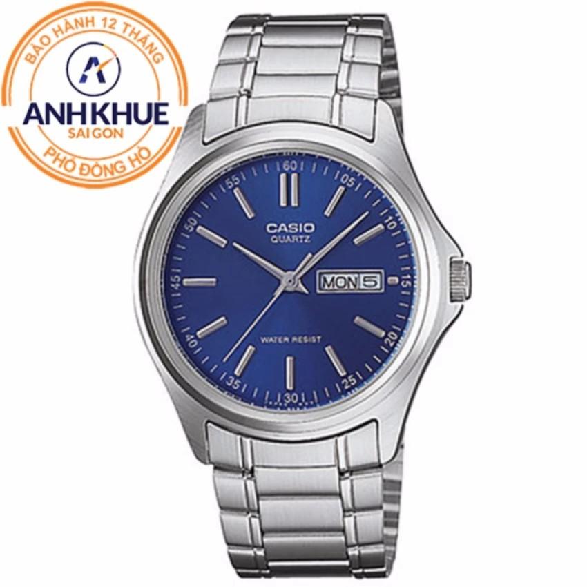 Đồng hồ nam dây kim loại Casio Anh Khuê MTP-1239D-2ADF