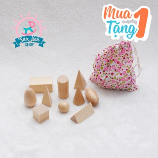 Túi bí mật hình khối Montessori| Đồ chơi phát triển trí tuệ