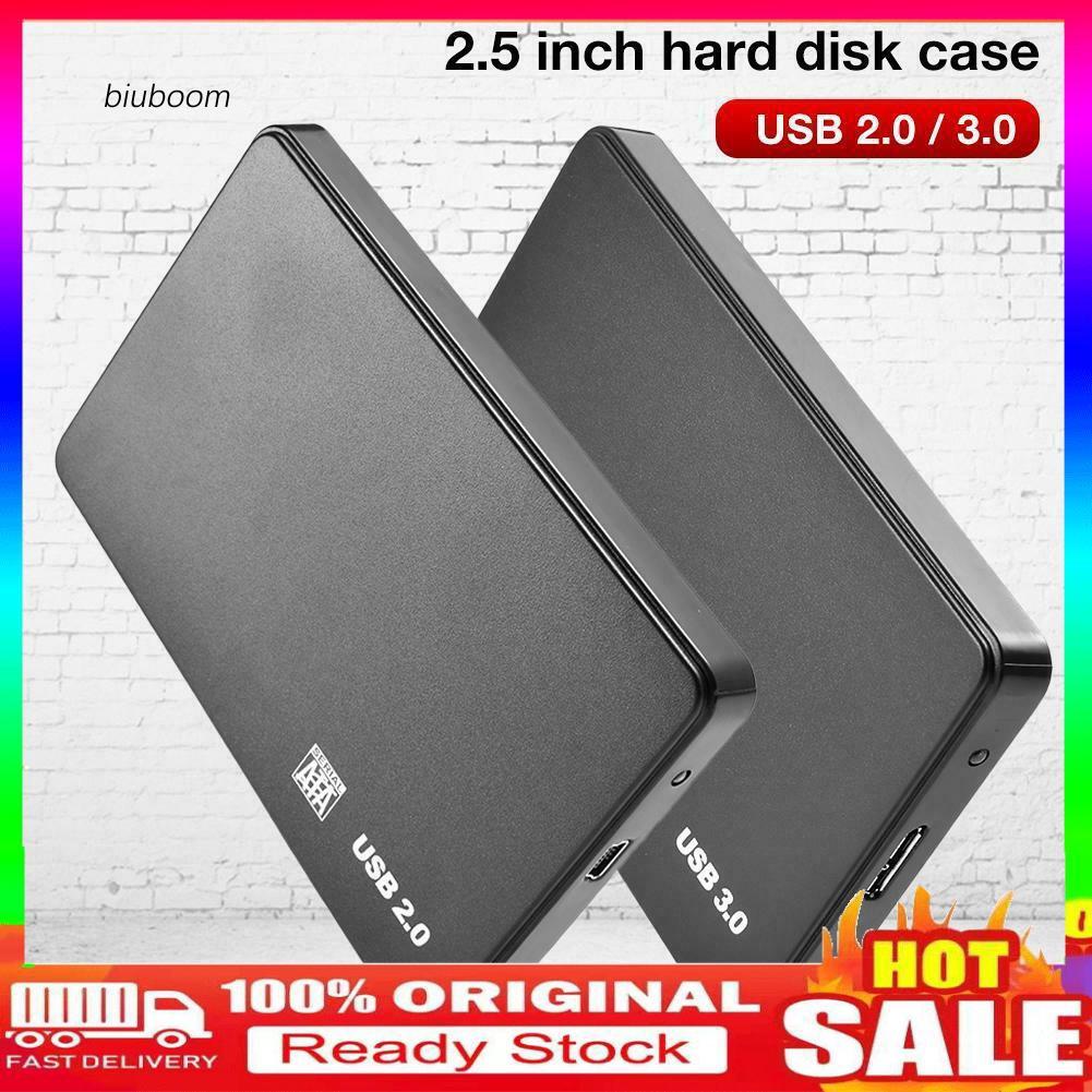 Hộp Đựng Ổ Cứng Ngoài USB 3.0/2.0 5GBPS 2.5INCH SATA Cho Máy Tính