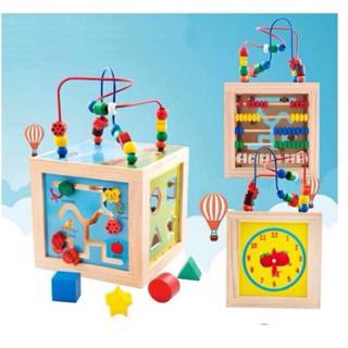 Đồ chơi lập phương 5 chức năng cho bé