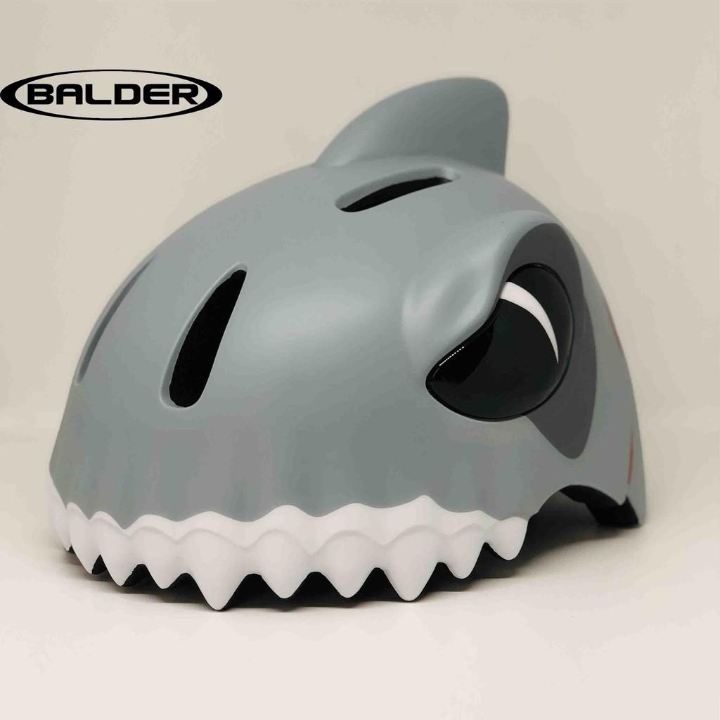 [NONTRUM_VN]Nón bảo hiểm xe đạp Balder Supper Kid cao cấp cho trẻ em có đèn led phía sau