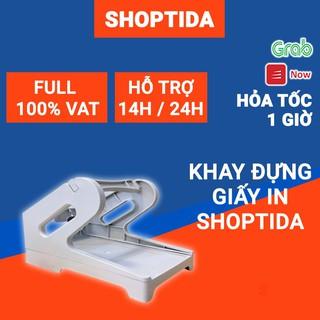 Khay kệ đựng giấy in nhiệt tự dán Shoptida, sử dụng cho giấy in nhiệt và máy in đơn hàng Shoptida Sp46