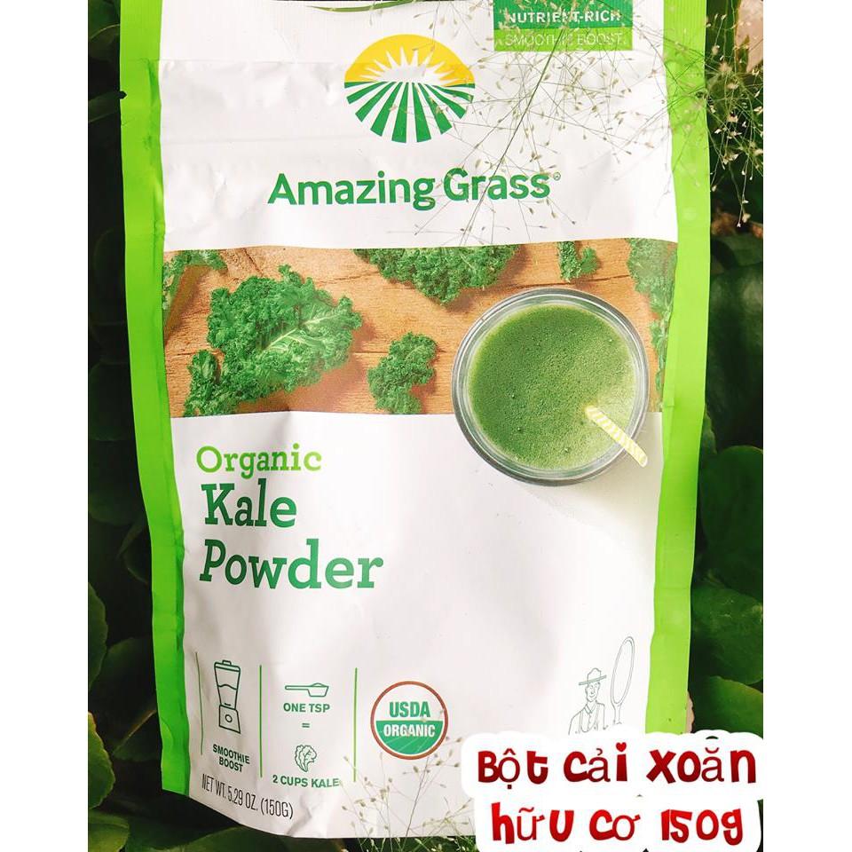 Bột Cải Xoăn Hữu Cơ Amazing Grass Kale Powder 150g