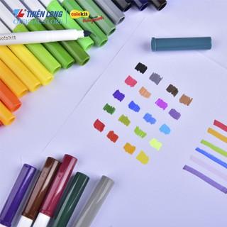 Hình ảnh Bút Lông Màu Fiber Pen Thiên Long-4
