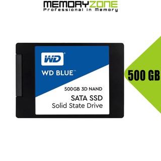 Ổ cứng SSD Western Digital Blue 3D-NAND SATA III 500GB WDS500G2B0A