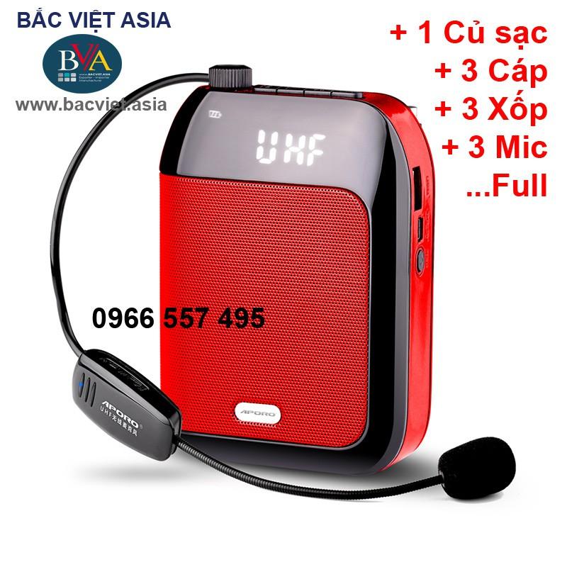 Máy trợ giảng Aporo T9 UHF Bluetooth, hàng chính hãng
