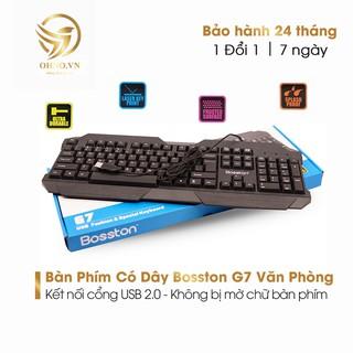 Bàn Phím Có Dây Bosston G7 Bàn Phím Máy Tính Văn Phòng OHNO Việt Nam thumbnail