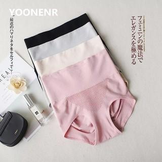Set 4 quần lót cạp cao gen bụng nâng mông kháng khuẩn hàng xuất Nhật