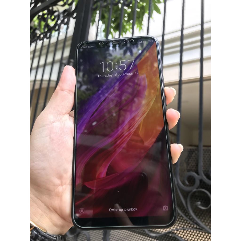 Điện thoại xiaomi mi 8 snap 845 ram 6gb 64gb 2 sim màn khủng 6.21 inch