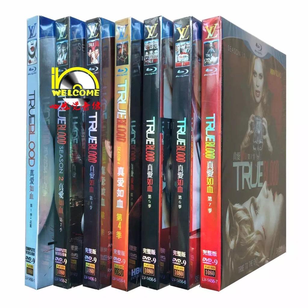 เครื่องเล่นดีวีดี hd dvd pc true blood love 1-7 season