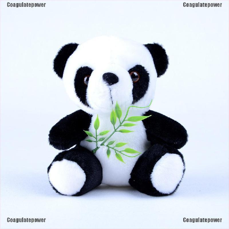 Coagulatepower 18cm Lovely Bamboo Panda Plush Toy Kids Baby Animal Soft Plush Doll Toys