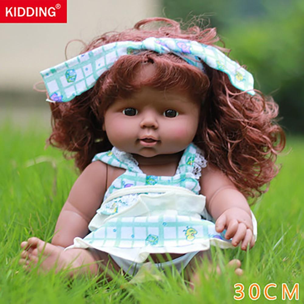 🎈lindsayll🎈 Realistic Simulation Dolls Cuddle Baby Soft Body Newborn Gift Cute Baby Girl
