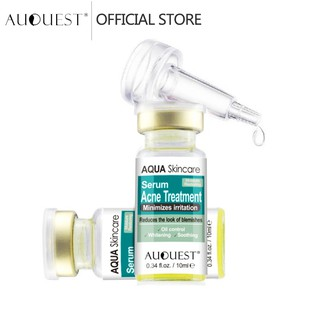 AUQUEST Acne Serum Antibacterial Anti Acne Oil-Control Essence Whitening Skincare (10ml) thumbnail