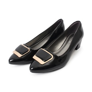 Aliza - Giày công sở phối khóa phụ kiện A92286 thumbnail