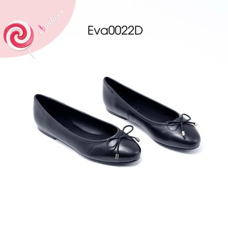 Giày Búp Bê Nơ dây Mảnh Da Tự Nhiên Evashoes - Eva0022D thumbnail