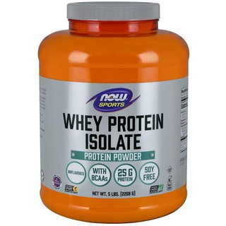 Sports, Whey Protein Isolate, Unflavored, 5 lbs (2,268 g)