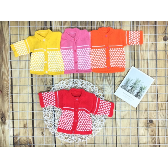 Áo len mềm cho bé, áo len đan (ss-5kg)