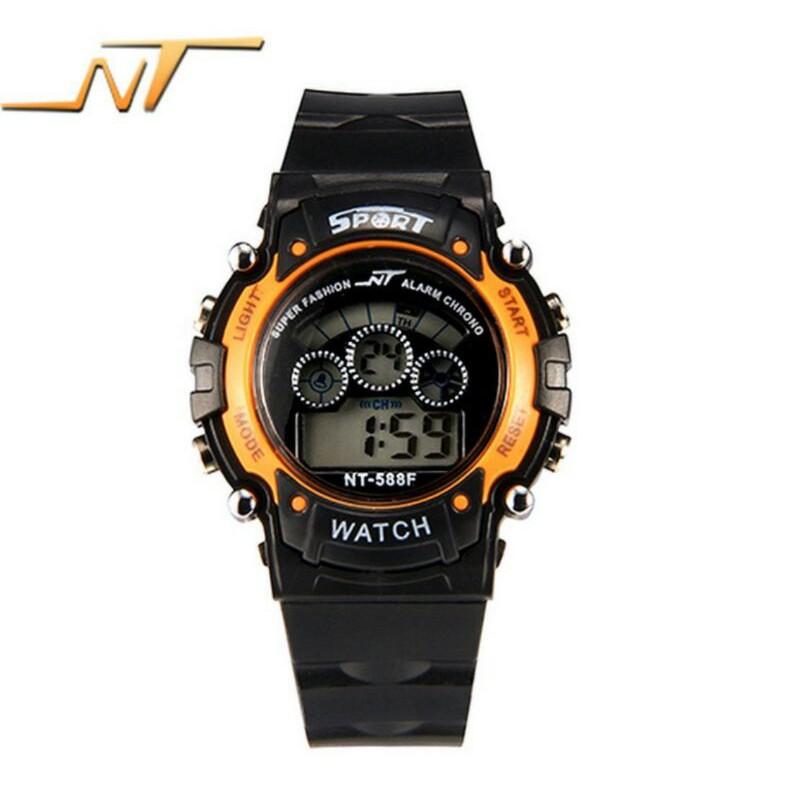 Đồng hồ bé trai NT dâu silicon siêu bền