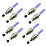 Bộ 8 đèn LED gắn van bánh xe máy ô tô TL 131-4