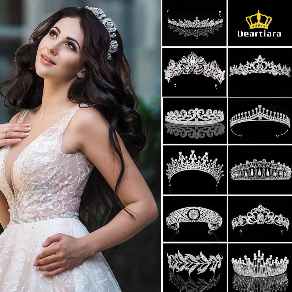 Vương miện công chúa sang trọng dành cho đám cưới