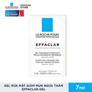 Sample Gói Gel Rửa Mặt Cho Da Dầu - Da Hỗn Hợp Dầu LarochePosay Effaclar Gel (7ml) thumbnail