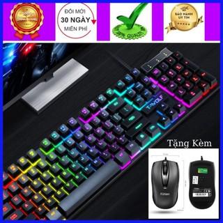 Bàn Phím Máy Tính Gaming SSR Siêu Chất LED 7 Màu, Độ Nhạy Cực Cao,Sản Phẩm Đạt Tiêu Chuẩn ESPORTS [BH 6 THÁNG]