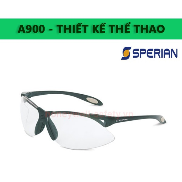 Kính chống bụi Sperian A900 trắng chính hãng & cao cấp