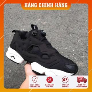 ( Deal 25%) giày thể thao nam reebok pump đen cổ thấp | Sale Rẻ | +