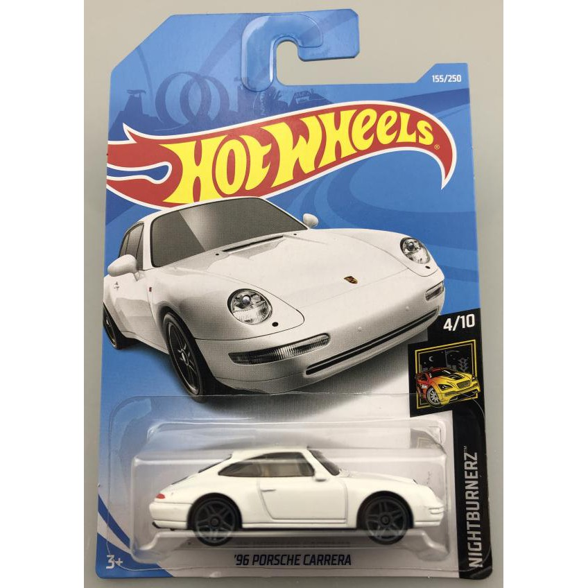Xe mô hình Hot Wheels '96 Porsche Carrera FYB71