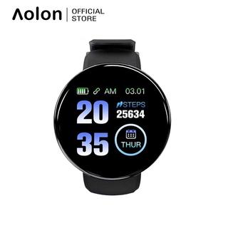 Đồng Hồ Thông Minh Aolon D18 Theo Dõi Sức Khỏe Hỗ Trợ Đo Huyết Áp Dành Cho Ios Và Android