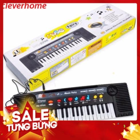 [FREE SHIP] Đàn Piano kèm Micro cho bé, 27 phím cho bé thỏa sức sáng tạo, đàn 3700_ đồ chơi phát nhạc
