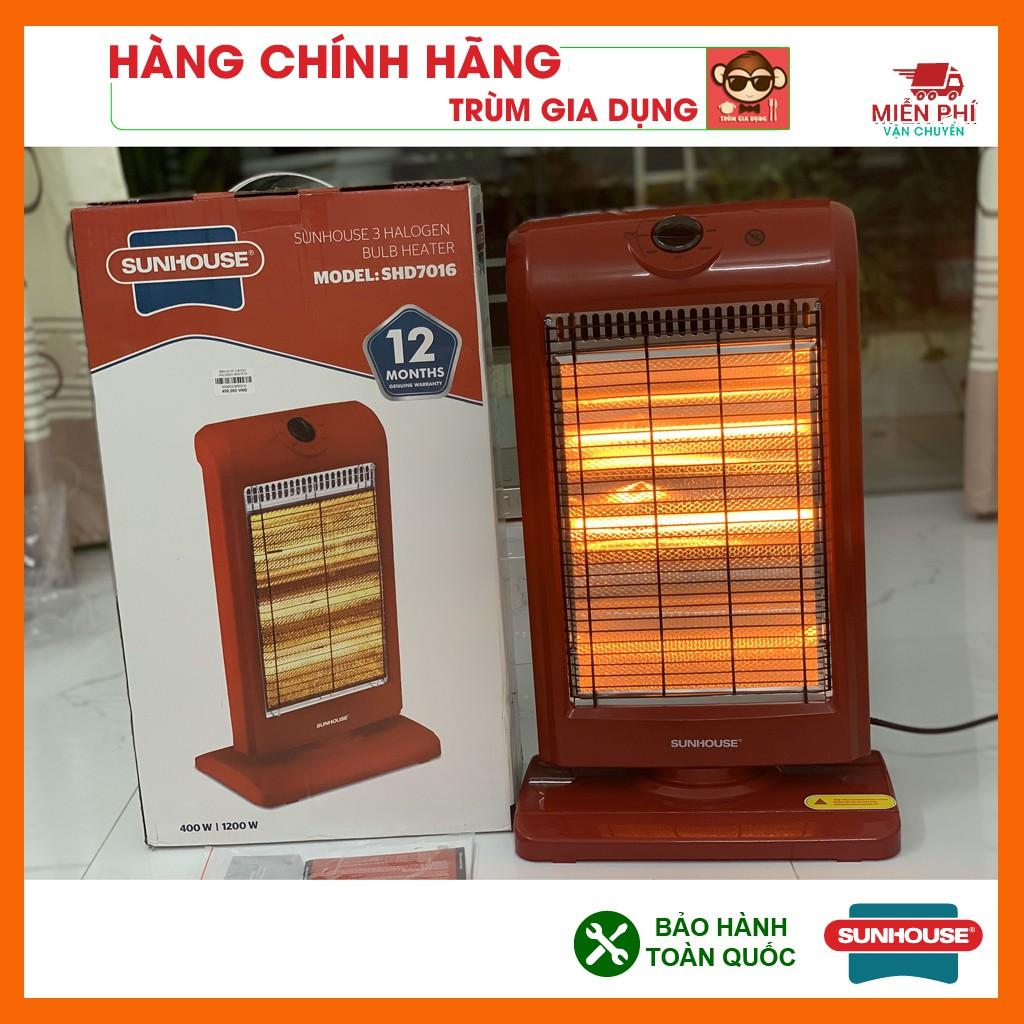 Đèn sưởi 3 bóng Sunhouse SHD7016, Máy sưởi sunhouse SHD7016, tốc độ làm ấm nhanh, tỏa nhiệt đều.