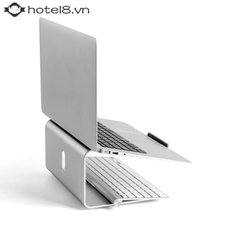 ✦✦ 360 Degree Rotary Base Aluminum Alloy Desktop Cooling Bracket Tbale Holder For 11-17 inch Laptop 【hotel8】