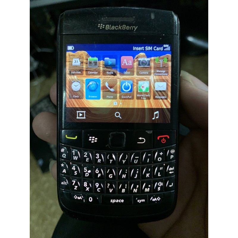 Điên thoại black bery cũ