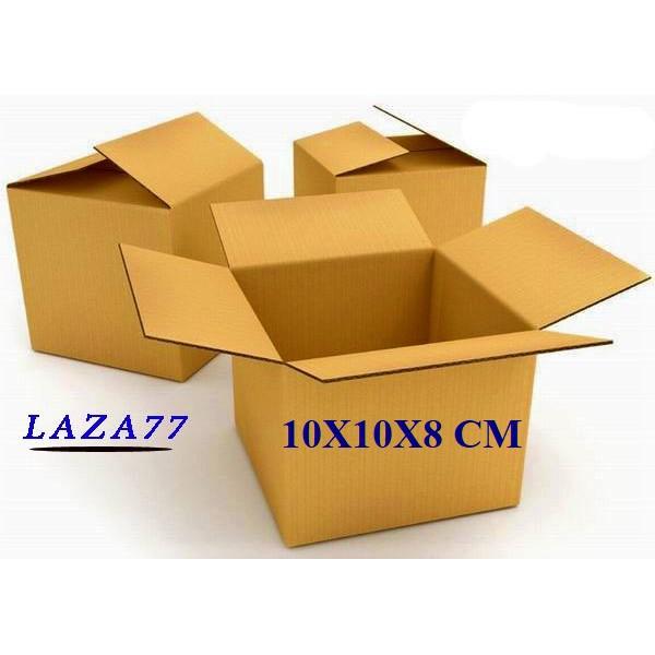 Hộp Carton 10x10x8 Bộ Combo 20 Hộp CỨNG