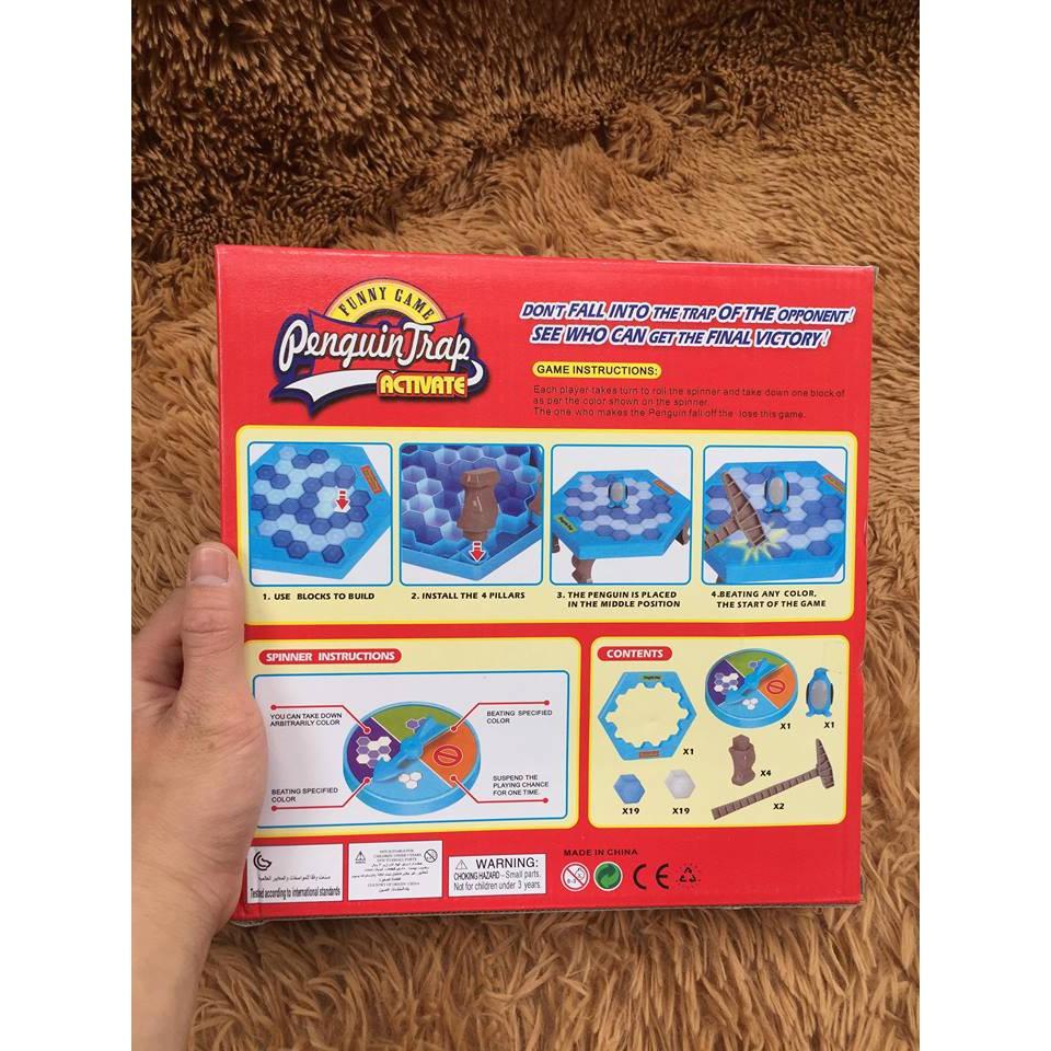 Bộ đồ chơi phá băng chim cánh cụt - 3595424 , 989271016 , 322_989271016 , 40000 , Bo-do-choi-pha-bang-chim-canh-cut-322_989271016 , shopee.vn , Bộ đồ chơi phá băng chim cánh cụt