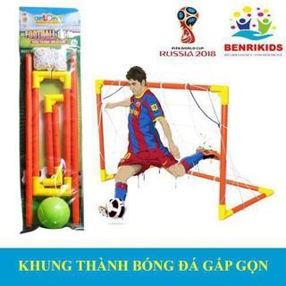 Khung Thành Bóng Đá World Cup Gấp Gọn Antona(Hàng Việt Nam)